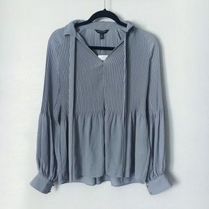 Banana Republic Gray Blouse